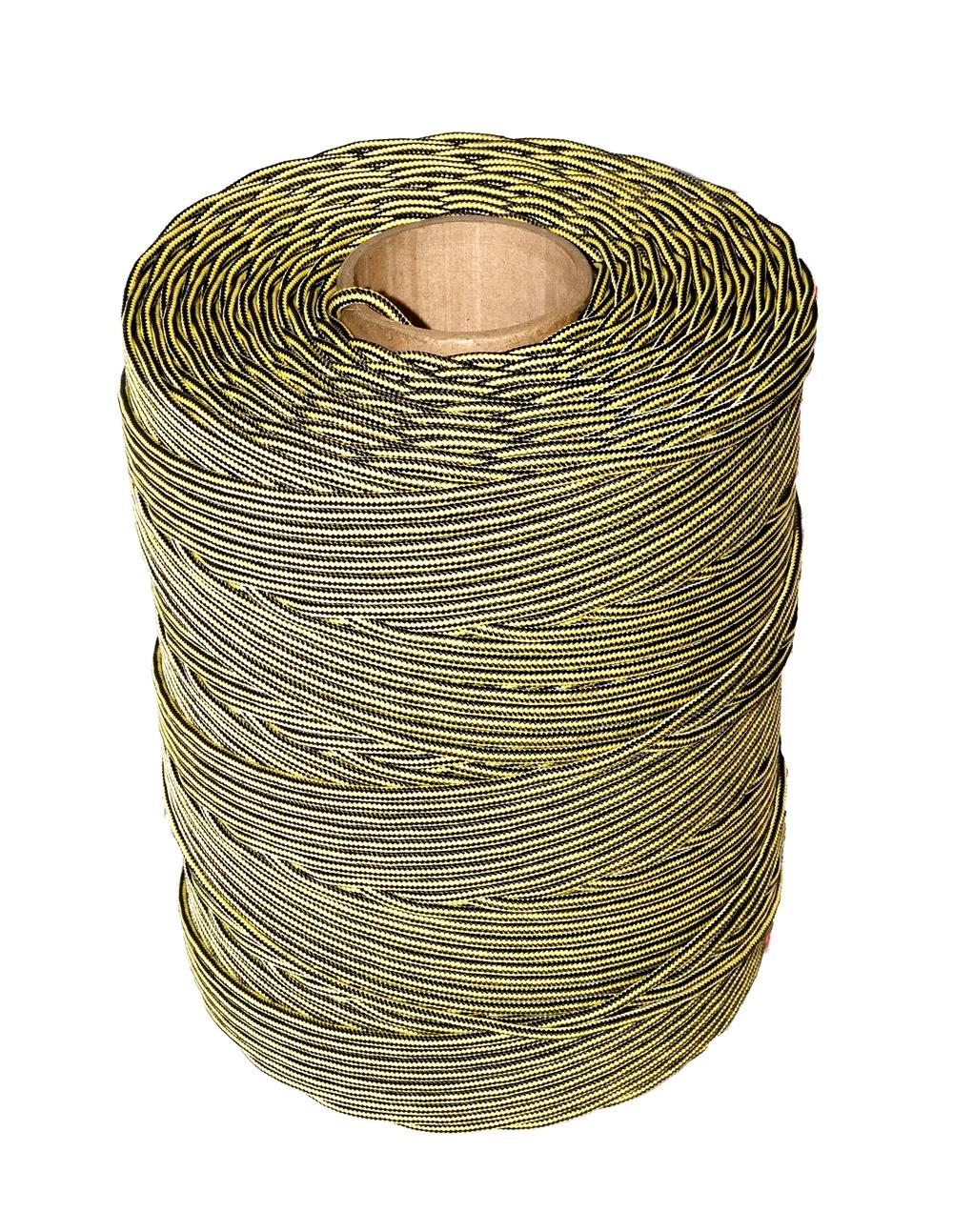 шнур рыболовный плетеный капроновый